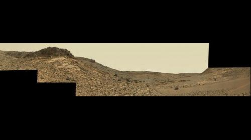 MSL Curiosity panorama at Sol 844