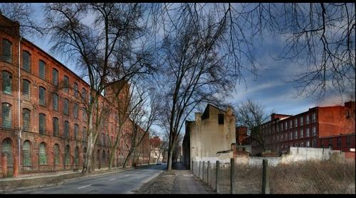Old factories in Lodz