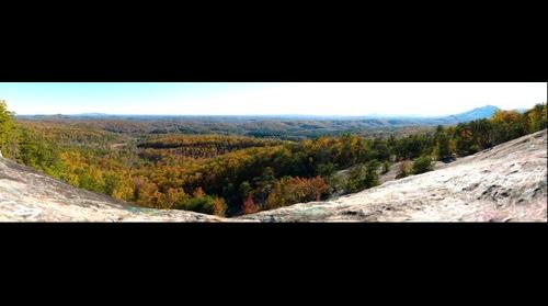 Bald Rock, Autumn 2014 (Pickens County, SC)