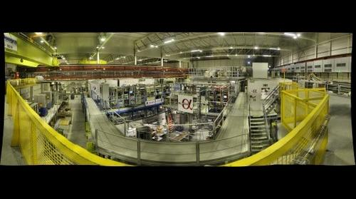 Inside CERN's Antiproton Decelerator Hall, Meyrin, Switzerland