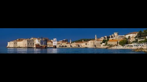Summer panorama of Dubrovnik