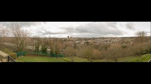 Durham from Wharton Park