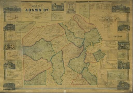 Adams County 1858