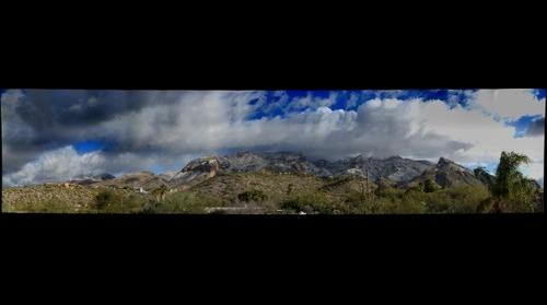Tucson-Catalina-Mountains-Snow-ToneCompressed-HDR