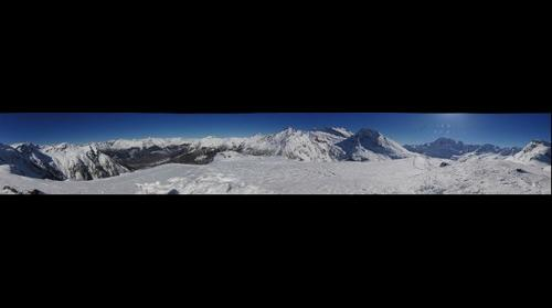 Above Simplonpass 2015 Winter