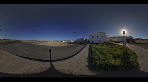 """Mural """"La Novelera"""" en Puerto del Rosario. Isla de Fuerteventura"""