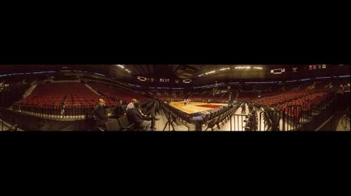 Moda Center Panorama shot with Seitz Roundshot VR Drive 150mm by Panogs LLC