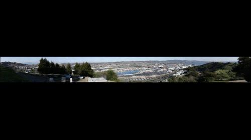 Richmond, California from Crest Ave