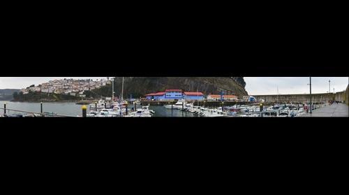 Panoramica puerto de lastres II