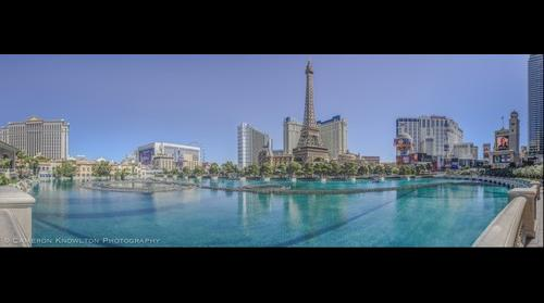 Pano: Paris from Bellagio [8x1]