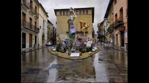 Falla El Cid, Plaça Trinitat