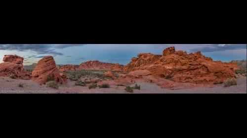 Pano: Valley of Fire-Beehives