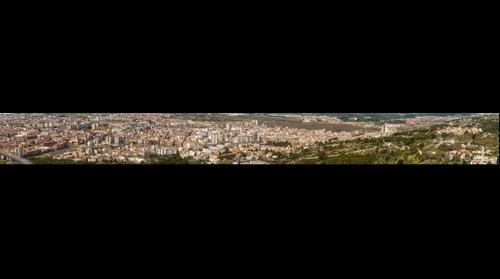 Panorámica de Girona desde el Pirulí