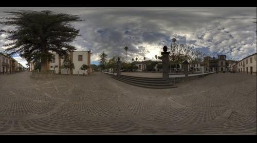 Plaza de la Alameda Pío XII, Teror. Isla de Gran Canaria