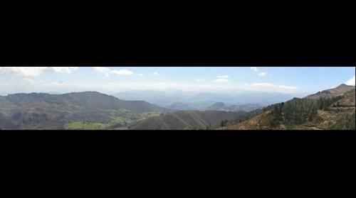Panoramica desde el fitu