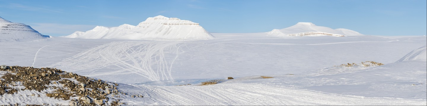 Front of the glacier