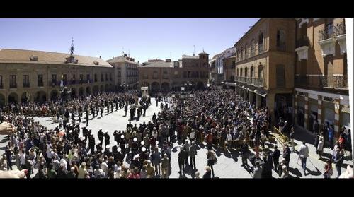 Procesión del Resucitado en Benavente - Domingo de Resurreción 2015