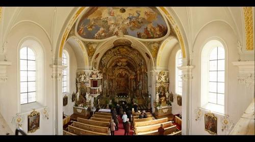 Ostergrab der Pfarrkirche Schönberg im Stubaital