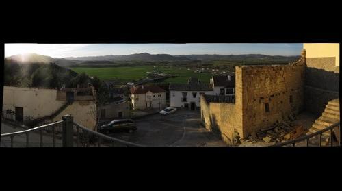 Redescubierta muralla medieval de Cáseda