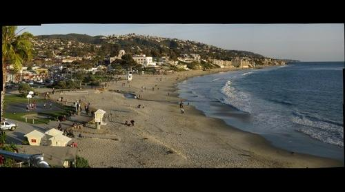 Main Beach in Laguna Beach, California