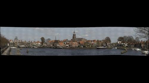 De haven van Blokzijl