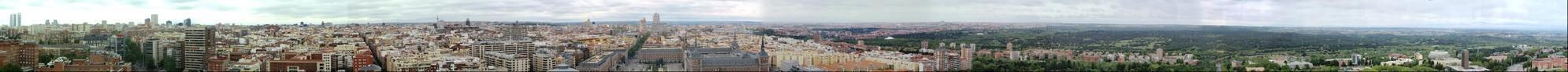 Panorámica de Madrid desde el Faro de Moncloa