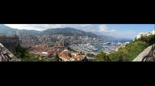 This photo - view to Monaco, Rampe de la Major - taken by Shikov Volodya