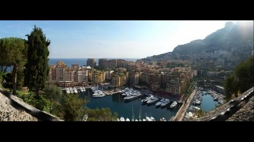 This photo - view to Monaco, Square Outside of the Old City - taken by Shikov Volodya