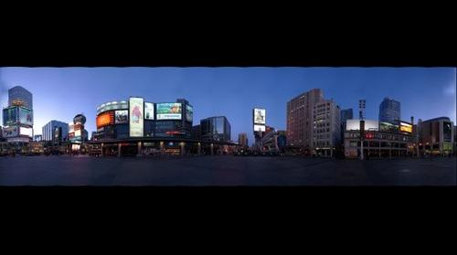 Dundas Square 360 Night