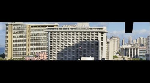 Waikiki view from Hyatt