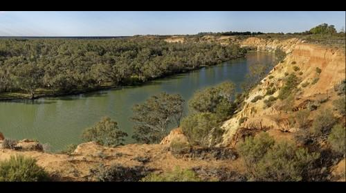 Headings Cliffs, River Murray, South Australia.  4 May 2015