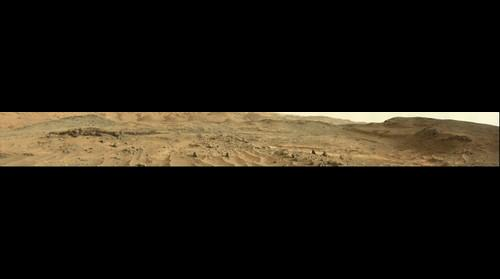 Mars Curiosity panorama at Sol 953