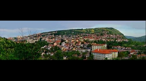 Veliko Tarnovo Bulgaria - image from the top