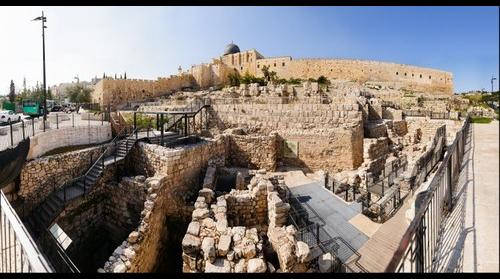 Old City of Jerusalem, Eastern part - Triple and Double Gate Archealogical site