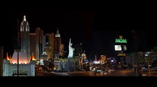 New York New York & MGM in Las Vegas