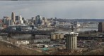 Overlooking Cincinnati from Devou Park
