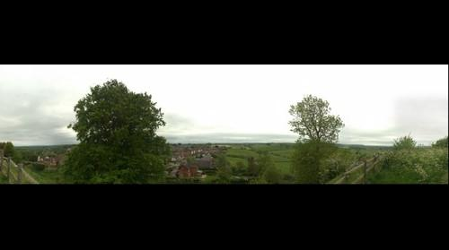 Tutbury Village from the castle