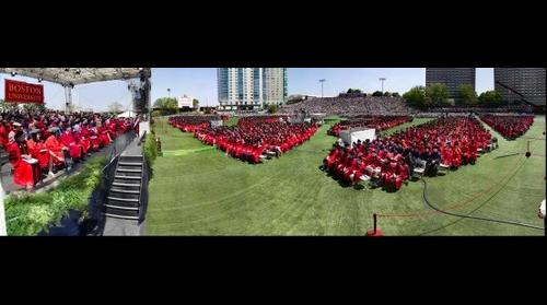 Boston University Commencement 2015