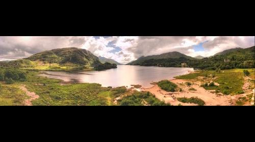 Loch Shiel from the Glenfinnian Monument
