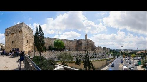 David's Citadel, David's Tower, Old Otoman's Walls - Old City of Jerusalem