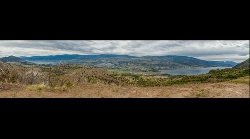 Overlooking Penticton