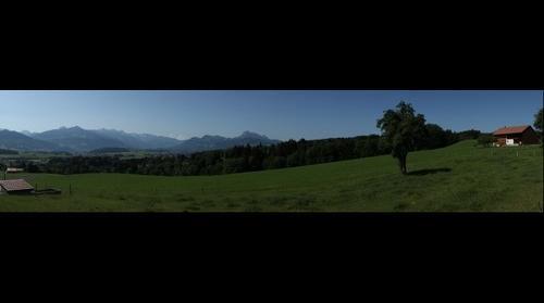 La Gruyère depuis Sorens (Suisse - Switzerland))