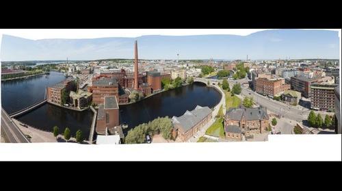 Tampere city 13.1 gigapixels