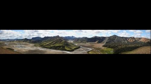 Landmannalaugar (Iceland) - general panorama