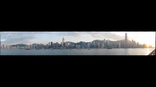 HK Island Skyline at Dusk