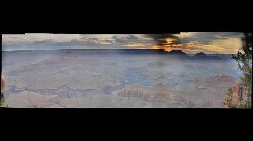 Sunrise - Grand Canyon - Jul 4th, 2015