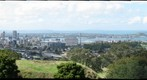 Auckland Cityscape from the top of Mount Eden (created from 150 individual photographs!)