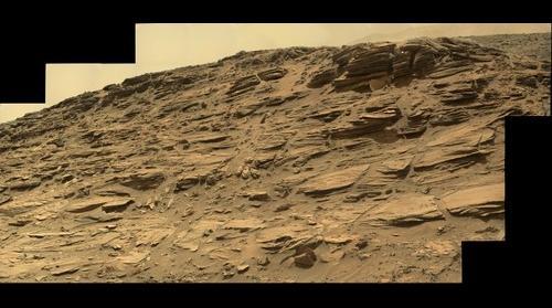 Sol 1033 Mars Curiosity panorama