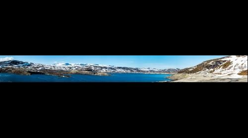 Sysenvatnet Panorama - Eidfjord, Norway