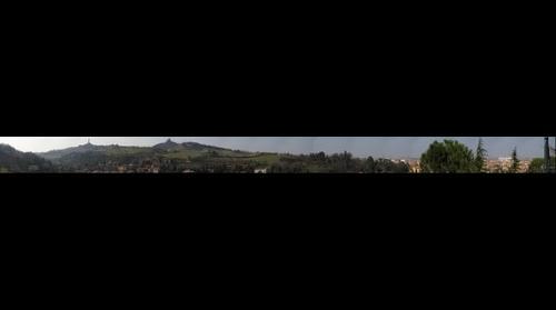 Bologna e santuario della madonna di San Luca